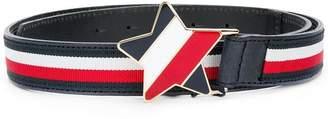 Tommy Hilfiger Junior star buckle striped betl
