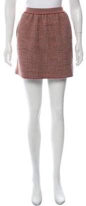Balenciaga Mini Knit Skirt