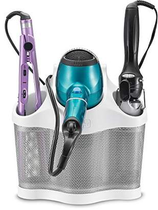 Polder Style Station - Hair Styling Storage Unit - Heat Resistant and Ideal for Blow Dryers