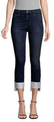 J Brand Ruby Step-Hem Cigarette Jeans