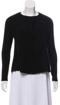 Calvin Klein Collection Cashmere Rib Knit Cardigan