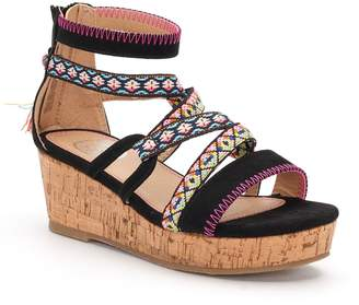 So SO Tightrope Girls' Wedge Sandals