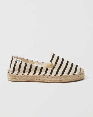 Abercrombie & Fitch Soludos Striped Slipper