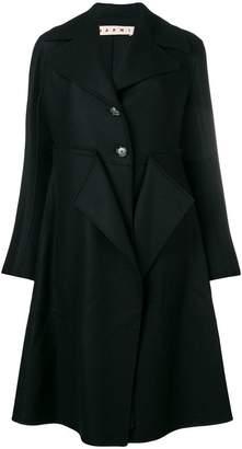 Marni cape overall coat
