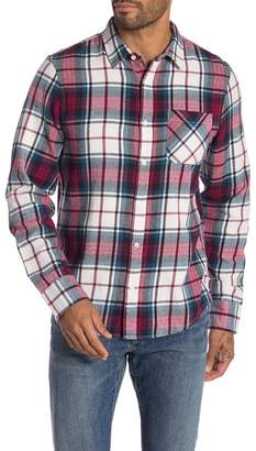 Public Opinion Long Sleeve 1-Pocket Flannel Shirt