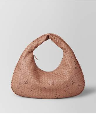 Bottega Veneta Dahlia Intrecciato Nappa Ayers Medium Veneta Bag