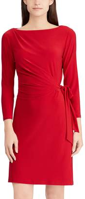 Chaps Petite Ruched Sheath Dress