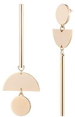 Trina Turk Assymmetrical Drop Earrings