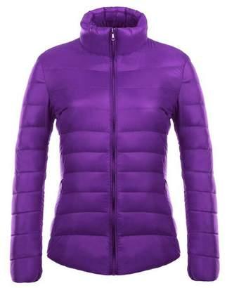 Womens Purple Winter Coat Shopstyle Canada