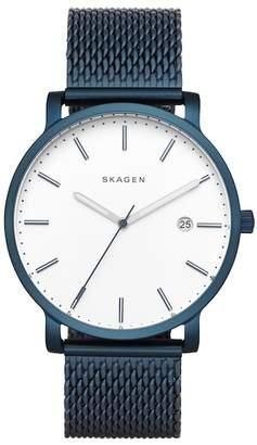Skagen Men's Hagen Steel-Mesh Watch, 40mm
