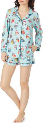 BedHead Wise Owl Classic Shorty Pajamas