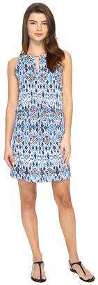 Tommy Bahama Ikat High Neck Short Dress Cover-Up Women's Swimwear