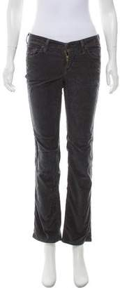 Citizens of Humanity Low-Rise Velvet Pants