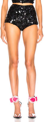 ATTICO Sequin Shorts