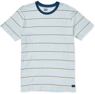 Billabong Men Die-Cut Striped T-Shirt