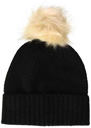 Pieces Women's Pcdiana Wool Hood Noos Beanie, Black