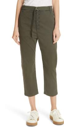 3x1 NYC Vic Belted Crop Chinos