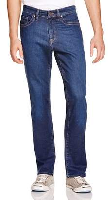 34 Heritage Charisma Comfort-Rise Classic Straight Fit Jeans in Dark Cashmere