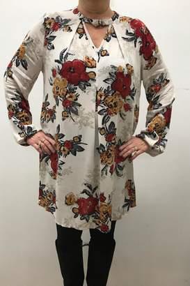 Blu Pepper Floral Print Dress