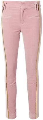 Haider Ackermann Nyssa contrasting panels trousers