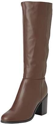 New Look Women's Wide Foot Dapper High Boots,(42 EU)