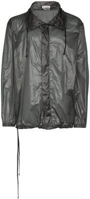 Jil Sander buttoned nylon shirt