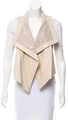 Patterson J. Kincaid PJK Asymmetrical Leather Vest