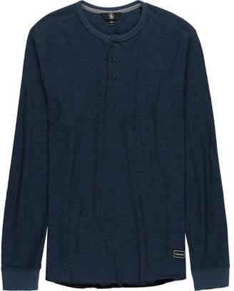 Volcom Moxie Long-Sleeve Henley Shirt - Men's