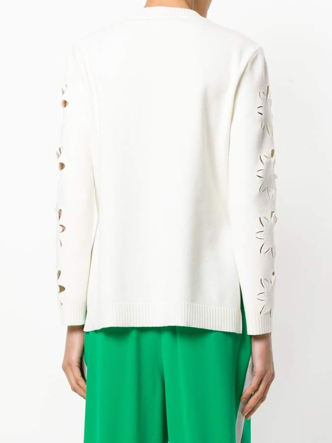 Fendi cut out details sweater