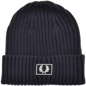 Fred Perry Two Tone Beanie Hat Navy