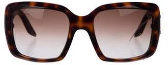 Christian Dior Gradient Embellished Sunglasses