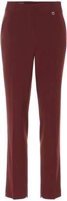 Salvatore Ferragamo Wool straight-leg pants