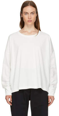 Studio Nicholson Ivory Volume T-Shirt
