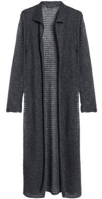James Perse Open-Knit Cashmere Cardigan