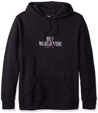 HUF Men's Serif Stack Pullover Fleece