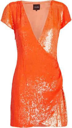 retrofete Olya Two-Tone Sequin Dress