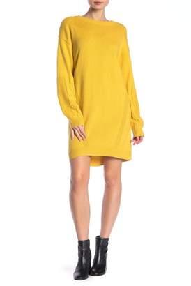 Abound Stitched Mix Sweater Dress