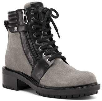 Botkier Women's Moto Leather Lace Up Booties