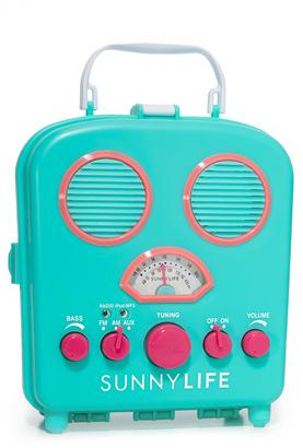 SunnyLife Beach Sounds Speaker & Radio $48 thestylecure.com