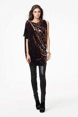 Wilma Joon Dress in Golden Tiger