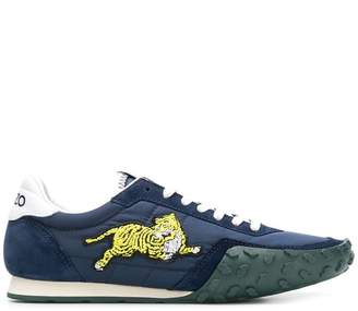 Kenzo Tiger patch sneakers