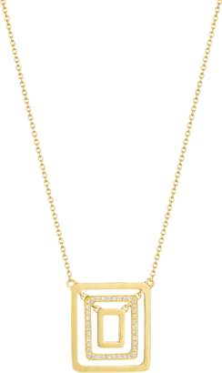 Mimi So Small Piece Center Pave Swing Necklace