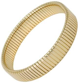 Janis Savitt Small Flat Rib Cobra Bracelet - Yellow Gold