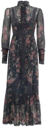 Zimmermann Unbridled Tucked Midi Dress
