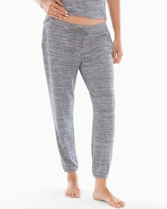 Cozy Nights Banded Ankle Pajama Pant Heather Graphite
