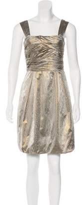 Diane von Furstenberg Brocade Mini Dress