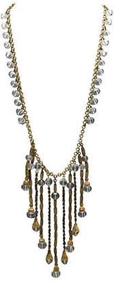 One Kings Lane Vintage Czech Glass Festoon Necklace