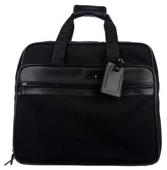 Montblanc Leather-Trimmed Wheeled Carry-On