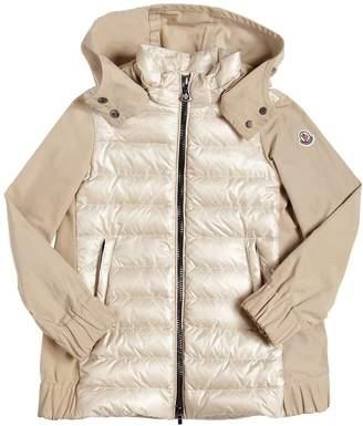 ... Moncler Cleofen Nylon & Gabardine Down Jacket