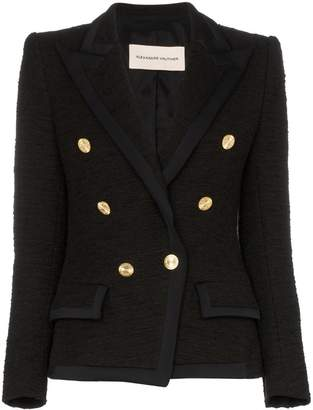 Alexandre Vauthier double-breasted knitted blazer jacket